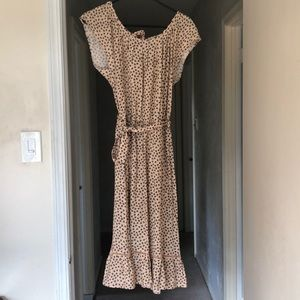 Nwt Lauren Conrad prairie dress size m